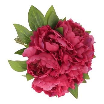 Kwiaty PIWONII bukiet fuksja