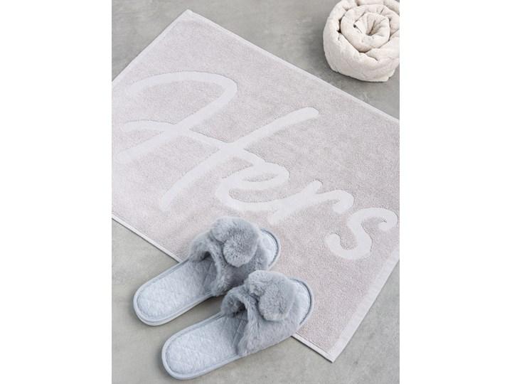 Sinsay - Ręcznikowy dywanik łazienkowy - Jasny szary 50x70 cm Kategoria Dywaniki łazienkowe