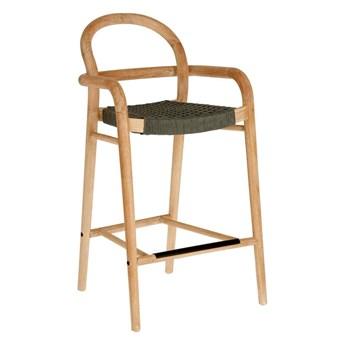 Drewniane krzesło ogrodowe Cherry szare