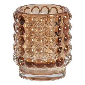 Be Pure :: Świecznik Bumble wys. 8 cm różowy