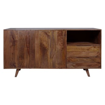 TABLE4U :: Drewniana komoda Emma 160x50x80 - kolor bursztyn