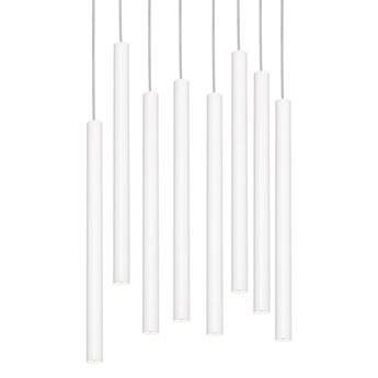 Kaspa :: Lampa wisząca Roll 3 biała