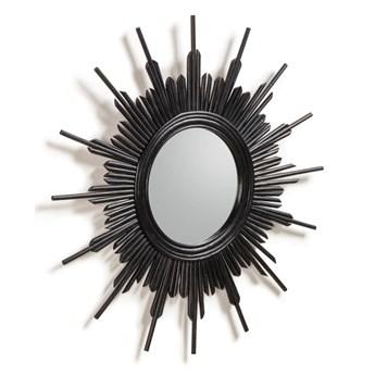 Lustro Minerla czarne śr. 70 cm