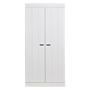 Woood :: Szafa drewniana Connect dwudrzwiowa biała