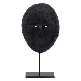 Urban Nature Culture :: Dekoracja z drewna mango czarna wys. 21 cm