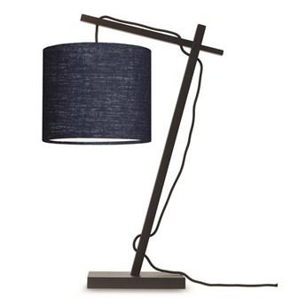 GOOD&MOJO :: Lampa biurkowa Anders granatowa wys. 46 cm