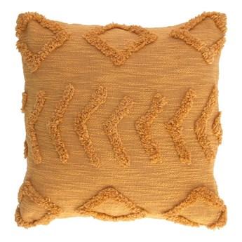 Poszewka na poduszkę Kayoxhira musztardowa szer. 45 cm
