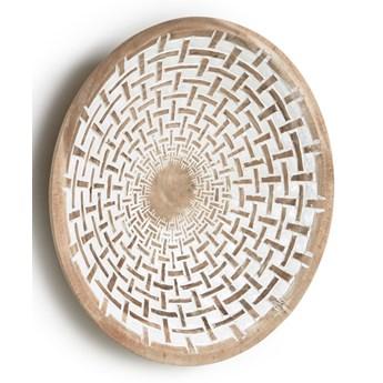 Dekoracja ścienna Mely drewniana śr. 50 cm
