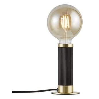 Nordlux :: Lampa stołowa Galloway czarna wys. 17,5 cm