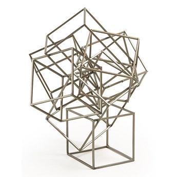 Metalowa figurka Sakase 24x28 cm złota