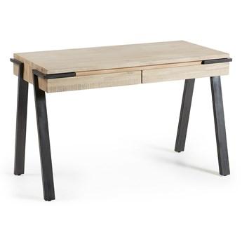 Drewniane biurko Disset 125 cm