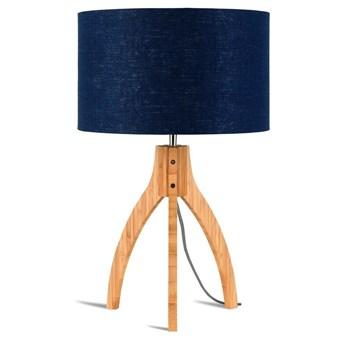 Good&Mojo :: Podstawa do lampy stołowej Annapurna 3-Nożna 27X3 niebieska