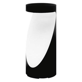 Artemide :: Lampa podłogowa zewnętrzna Ippolito czarno-biała wys. 45 cm