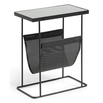 Stolik Fran 55x25 cm czarny