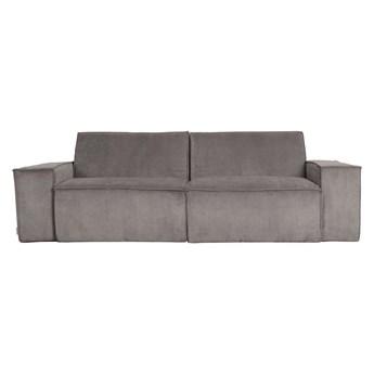 Zuiver :: Sofa tapicerowana James 2-osobowa szara