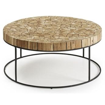 Drewniany stolik Pierre 80x80 cm