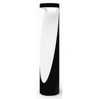 Artemide :: Lampa podłogowa zewnętrzna Ippolito czarno-biała wys. 90 cm