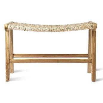 HK Living :: Ławka z drewna tekowego naturalna