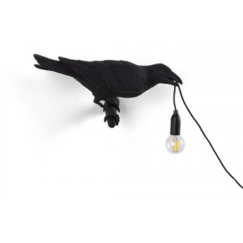 Seletti :: Kinkiet Bird Looking Right czarny