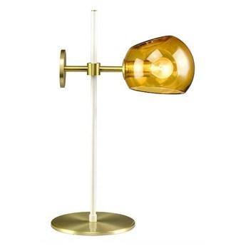 Elements Lighting :: Lampa stołowa Olga bursztynowa wys. 46 cm