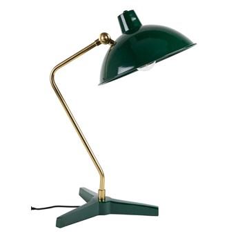 Dutchbone :: Lampa stołowa metalowa Devi zielona