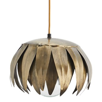 Madam Stoltz :: Lampa wisząca mosiężna śr. 28 cm