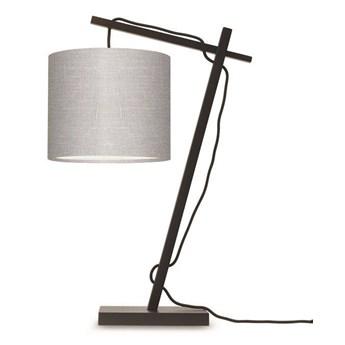 GOOD&MOJO :: Lampa biurkowa Anders ciemnoszara wys. 46 cm