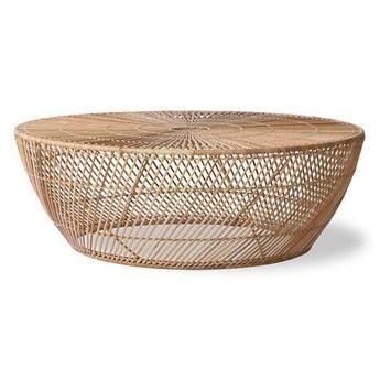 Hkliving :: Stolik kawowy z wikliny naturalny 100x35 cm