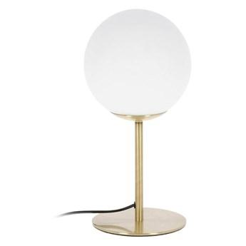 Lampa stołowa Martha złota wys. 28 cm