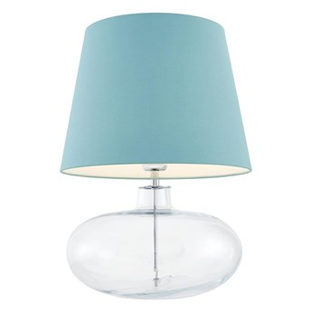 Kaspa :: Lampa stołowa Sawa niebiesko-transparentna