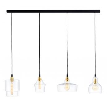 Kaspa :: Lampa wisząca Longis na listwie Plafon 4 Gold
