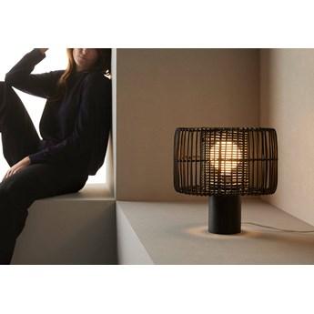 Aromas :: Lampa stołowa Hedula czarna wys. 34 cm