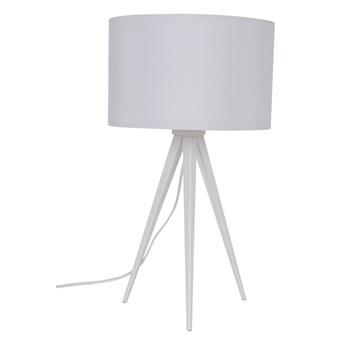 Zuiver :: Lampa stołowa metalowa Tripod biała