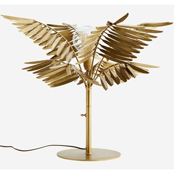 Madam Stoltz :: Lampa stołowa Palma mosiężna wys. 60 cm