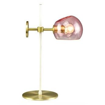 Elements Lighting :: Lampa stołowa Olga różowa wys. 46 cm