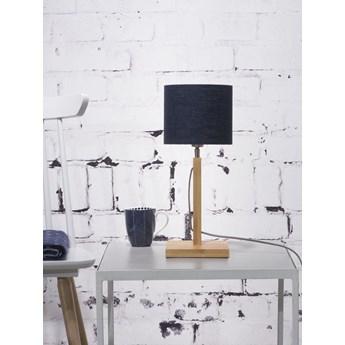 Good&Mojo :: Lampa stołowa drewniana Fuji czarna