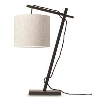 GOOD&MOJO :: Lampa biurkowa Anders jasnoszara wys. 46 cm