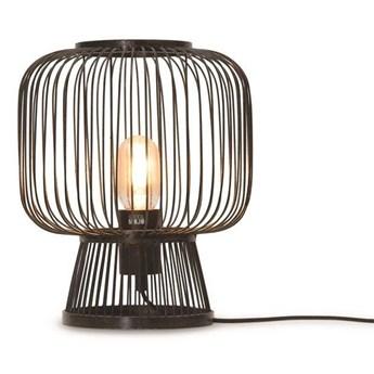 GOOD&MOJO :: Lampa stołowa Cango czarna wys. 30 cm