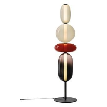 Bomma :: Lampa podłogowa Pebbles czerwona wys. 132,6 cm