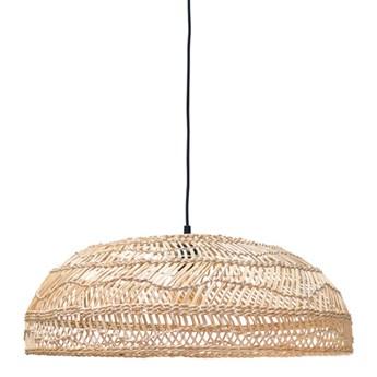 HK Living :: Lampa wisząca drewniana wiklinowa rozmiar M