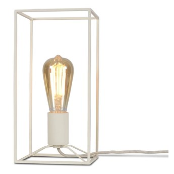 It's About RoMi :: Lampa stołowa metalowa Antwerp biała