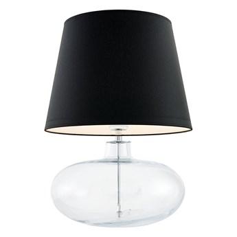 Kaspa :: Lampa stołowa Sawa czarno-transparentna