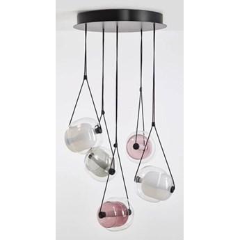 Brokis :: Lampa wisząca Capsula Metal Canopy transparentna wys. 200 cm