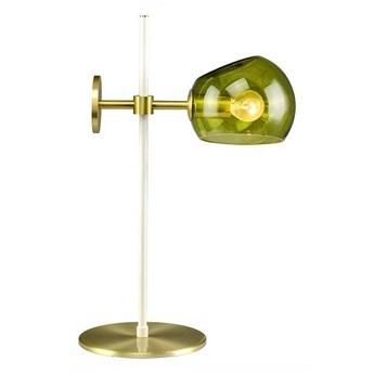 Elements Lighting :: Lampa stołowa Olga zielona wys. 46 cm