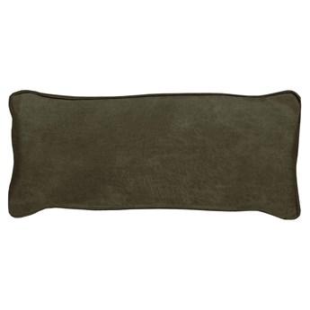 Woood :: Poduszka skórzana do sofy Bean khaki 30x70 cm