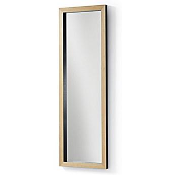 Lustro w drewnianej ramie Dona 48x4 cm czarne