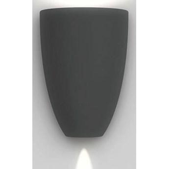 Artemide :: Lampa ścienna / kinkiet zewnętrzny Molla antracytowy wys. 23 cm