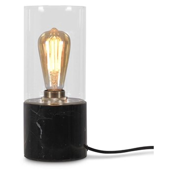 It's About RoMi :: Lampa stołowa marmurowa Athens czarna