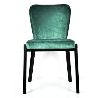 FAMEG :: Krzesło Lava zielone / drewno dębowe