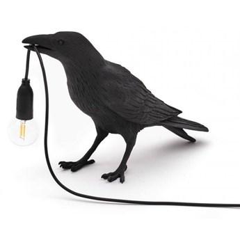 Seletti :: Lampa stołowa zewnętrzna Bird Waiting czarna